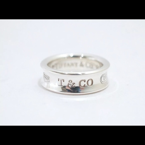 a5a692db3 Tiffany & Co. Jewelry | Tiffany Co 1837 T Co Sterling Silver Ring ...